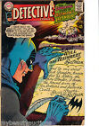 Marvel Comics Detective Comics / Batman's Last Hour. # 366. Aug. 1967.  G/VG.