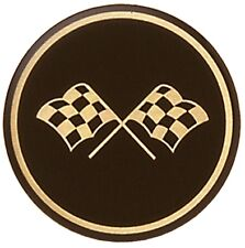 C3 1968 - 1982 Corvette Black and Gold Cross Flag Wheel Decals