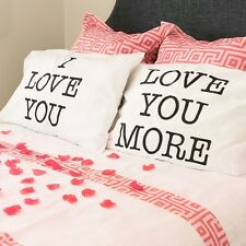 Bed Pillowcases Love You Pillowcase Set Gift Ideas Anniversary Gifts For Him Her