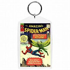 Marvel Comic Book Amazing Spiderman #7  Silver Age Keychain New