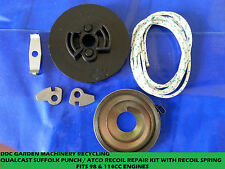 suffolk puch / atco  pull start repair kit pulley, spring, pawls, cord,activator