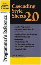 Cascading Style Sheets 2.0 Programmer's Reference, Eric Meyer
