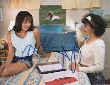GFA The To Do List * AUBREY PLAZA & ALIA SHAWKAT * Signed 8x10 Photo AD COA