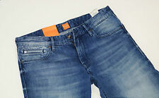 NEU - Hugo Boss Orange 24 Barcelona - W33 L36 - Blue Jeans Denim  Regular  33/36