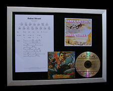 GERRY RAFFERTY Baker Street LTD MUSIC CD QUALITY FRAMED DISPLAY+FAST GLOBAL SHIP