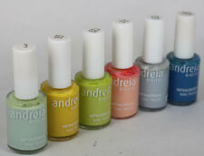 AN1 ANDREIA NAIL POLISH hypoallergenic NAIL EXCLUSIVE ON EBAY LOT of 6