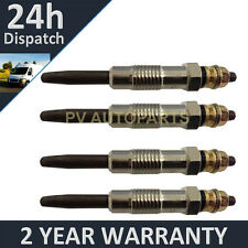 4X FOR LDV 200 SERIES PILOT 1.9 2.0 400 SERIES CONVOY 2.5 HEATER GLOW PLUGS
