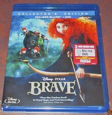 Disney*Pixar'S BRAVE Collector's Edition (2012) 3 Disc CE Blu-Ray+DVD COMBO ~ R1