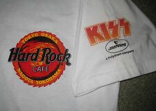 KISS Japan PROMO ONLY Hard Rock Cafe T-SHIRT Polygram GENE SIMMONS - OFFICIAL!