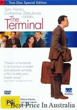 The Terminal DVD LIKE NEW TOP 1000 MOVIES Tom Hanks Catherine Zeta-Jones R4