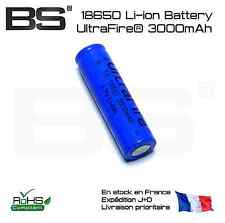 Battery 18650 UltraFire blue 3000mAh batterie liion lithium 3.7V pile 18650