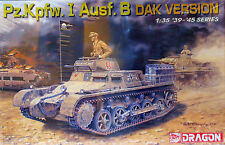 Dragon Pz.Kpfw. I Ausf. B DAK Afrika Korps version tank model kit #6207 SEALED