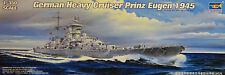 TRUMPETER® 05313 German Heavy Cruiser Prinz Eugen 1945 in 1:350