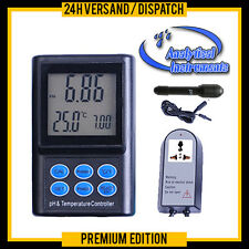 PH REGOLATORE PHMETRO CONTROLLER METER ACQUARIO CO2 PH-221 P14