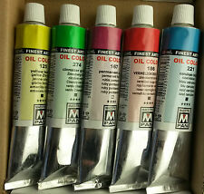 5 of Your Choice, 84 Colour Range Maestro Pan Profesional Artist Oil Paint 45ml