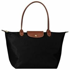 Authentic New Longchamp Le Pliage Black tote bag Large L
