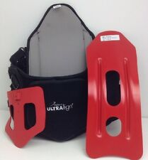 DeRoyal ULTRALIGN + TLSO Small Back BRACE Good CONDITION With inserts