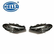 NEW BMW F10 M5 Pair Set of Left and Right Headlights BI Xenon Adaptive OEM HELLA