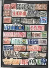 AUSTRALIA-A real hodge-podge of many stamps from 3-4 estates (low price)