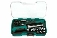 KAMASA TOOLS SOCKET DRIVER BIT SET IN STORAGE CASE 41 PIECES