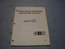SD-15B GM Heating and Air Conditioning Graphic Mode Diagnosis 1983 manual