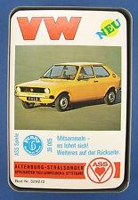 Quartett - VW - ASS - Nr. 3292/2 - von 1976 - Auto - Volkswagen Kartenspiel