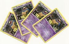 4x COFAGRIGUS #52/108- DARK EXPLORERS Pokemon Card- RARE NONHOLO PLAYSET- MINT