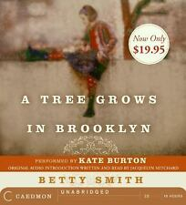 A Tree Grows in Brooklyn by Betty Smith Audio Cd Book Excellent Condition