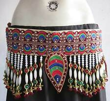 Tribal Fusion Womens BELT Kuchi Banjara Gypsy Belly dance Costume Pants Jewelry