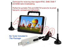 Portable Aerial for USB TV Tuner / DTV / DAB Radio - Magnetic Base