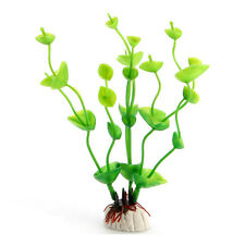 Artifical Grass Aquarium Fish Tank Water Weeds Plants Decoration CX27 Green #5