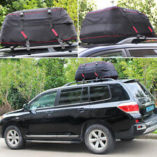Waterproof Roof Top Cargo Bag Large Travel Storage Roof Bag Car Luggage Bag