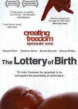 Creating Freedom: The Lottery of Birth (DVD, 2014)
