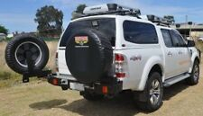 OUTBACK ACCESSORIES WHEEL CARRIER, FORD RANGER PX 10/2011 - 2015, DUAL CAB, 4WD
