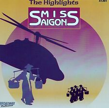 Miss Saigon-the highlights/CD (Broadway Collection 41201) - NUOVO