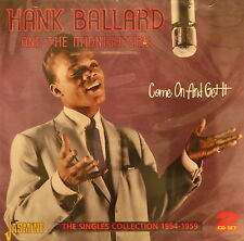 HANK BALLARD & THE MIDNIGHTERS - 2CD Set on Jasmine
