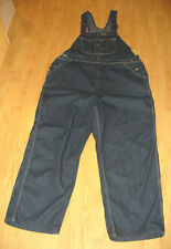 "SIZE 40/42 (INS: 28/32"")MEN'S VINTAGE DENIM JEAN BIB OVERALL PANTS - ROEBUCKS"