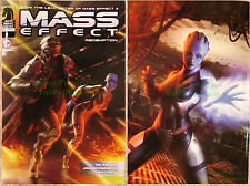 Mass Effect Redemption #1 Limited Edition ASHCAN / Mini Comic VHTF UNREAD!