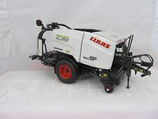 WIKING CLAAS ROLLANT 455 UNIWRAP WHITE  COLOUR CONVERSION ,SIKU,WEISE ,UH