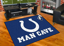"""Indianapolis Colts NFL Man Cave 34""""x45"""" All-Star Area Rug Mat"""