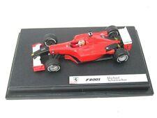 Ferrari F2001 Schumacher Monza 2001 Black Nose Hotwheels 1/43 F1 World Champion