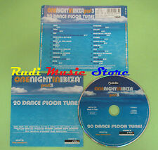 CD ONE NIGHT IN IBIZA PART 3 compilation 2002 MOBY MOUSSE T CELEDA ECLIPSE (C29)