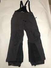 Men's MOUNTIAN HARD WEAR Gray Ski Snow Boarding Bib Sz S Nylon Conduit
