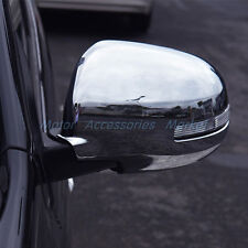 New Chrome Rearview Mirror Cover Trim For Mitsubishi Outlander Sport 2016 2017