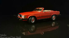 Scary Scarce CMC 1:24 M-012 Mercedes-Benz 450SL, US Version, 1973/80 - Red