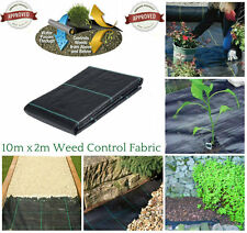 2M X 10M  WEED CONTROL FABRIC MEMBRANE GROUND SHEET GARDEN/DRIVEWAY HEAVY DUTY