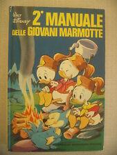 2° MANUALE DELLE GIOVANI MARMOTTE WALT DISNEY MONDADORI 1975 - RARO