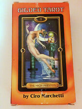 Gilded Tarot 2004 Ciro Marchetti Cards Deck 78 Cards Georgeous Out of Print GUC