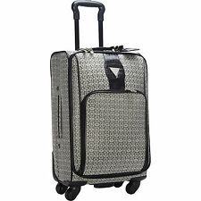 NEW GUESS CONESTOGA TRAVEL 4 WHEEL ROLLER UPRIGHT SUITCASE CARRY ON LUGGAGE