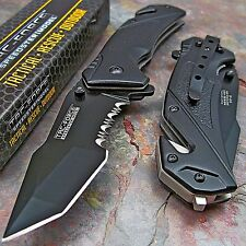 TAC-FORCE Spring Assisted Open TACTICAL TANTO Rescue Folding Blade Pocket Knife!